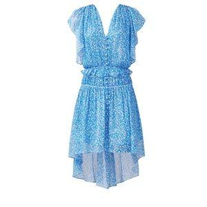The Kooples blue floral dot dress